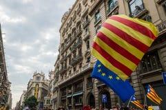 Pacyfik protest, Barcelona obraz royalty free