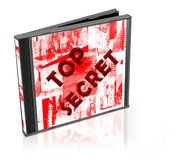 paczka cd Fotografia Stock