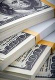 paczka dolarów Zdjęcia Stock