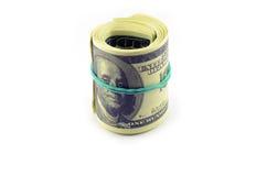 paczka dolarów Obraz Stock