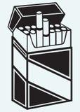 Paczka papierosy Zdjęcie Stock