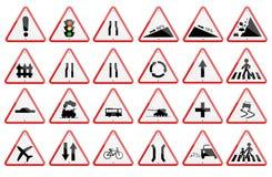 Paczka ruchu drogowego znak Fotografia Stock