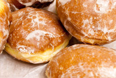 Paczkis, up close. Stock Photo
