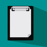 Pad. Notepad for your advertising signs Stock Images