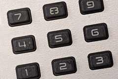 Pad of  calculator Stock Photography