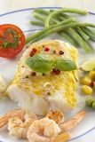 Pad cod curry wit vegetable Royalty Free Stock Photos