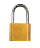 Pad Lock Open Stock Photo