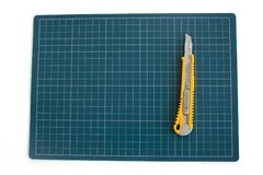 Pad paper cutter Stock Image