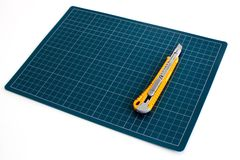 Pad paper cutter Stock Images