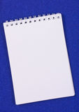 Pad of paper to take notes Royalty Free Stock Photos