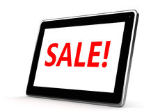 Pad PC Sale Royalty Free Stock Image