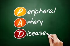Free PAD - Peripheral Artery Disease Acronym Stock Photography - 197868472