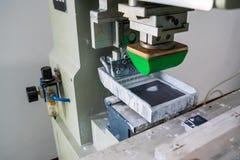 Pad printing royalty free stock photography