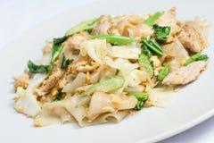 Pad Se-ew Moo, Thai food Royalty Free Stock Photos