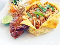 Pad Thai. Stock Photo