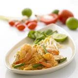 Pad thai. Thai food pad thai Royalty Free Stock Image