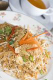 Pad thai chicken thailand food Stock Photo