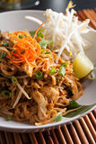 Pad Thai Close Up Stock Photos