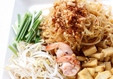 Pad thai Stock Photography