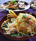 Pad Thai food cuisine Stock Photo