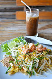 Pad Thai Fry Rice Noodle Food Of Thailand Stock Images