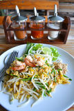 Pad Thai Fry Rice Noodle Food Of Thailand Stock Image