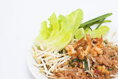 Pad thai Stock Images