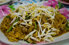 Pad thai. Or noodle in thailand Stock Photography
