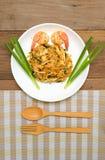 Pad thai noodle wok 3 Stock Photography