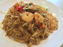Pad Thai noodles Royalty Free Stock Photos