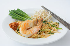 Pad thai noodles Royalty Free Stock Photography