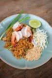 Pad Thai prawn. Stock Image