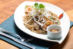 Pad Thai Royalty Free Stock Photography