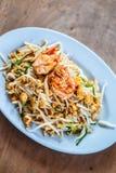 Pad Thai; Thai cuisine food Royalty Free Stock Photo