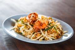 Pad Thai; Thai cuisine food Royalty Free Stock Photos