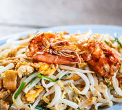 Pad Thai; Thai cuisine food Stock Photography
