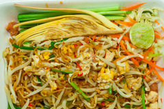 Pad Thai. Royalty Free Stock Photo