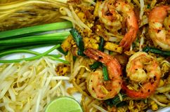 Pad Thai. Thailand food pad Thai royalty free stock photography