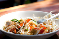 Pad Thai - Thailand national dish royalty free stock photography