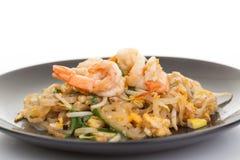 Pad thai, Thia food. Pad thai ,Thai style noodles Royalty Free Stock Images