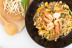 Pad thai, Thia food Royalty Free Stock Photography