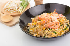 Pad thai, Thia food Stock Images