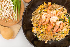 Pad thai, Thia food Royalty Free Stock Image