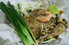 Pad Thai,Thai Food Royalty Free Stock Photography