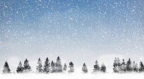 pada śnieg Zdjęcie Royalty Free