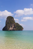 Pada Island over south of Thailand beach Royalty Free Stock Images