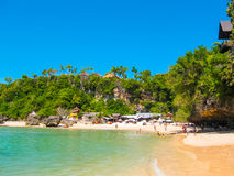 Padang海滩,巴厘岛 免版税库存照片