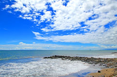 PADANG BEACH INDONESIA Royalty Free Stock Images