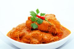 Padang Chicken Curry Royalty Free Stock Image