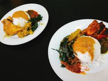 Padang-Lebensmittel Lizenzfreies Stockbild